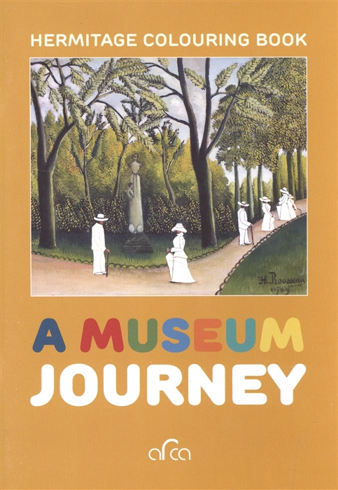 Bam L. A museum journey Hermitage colouring book