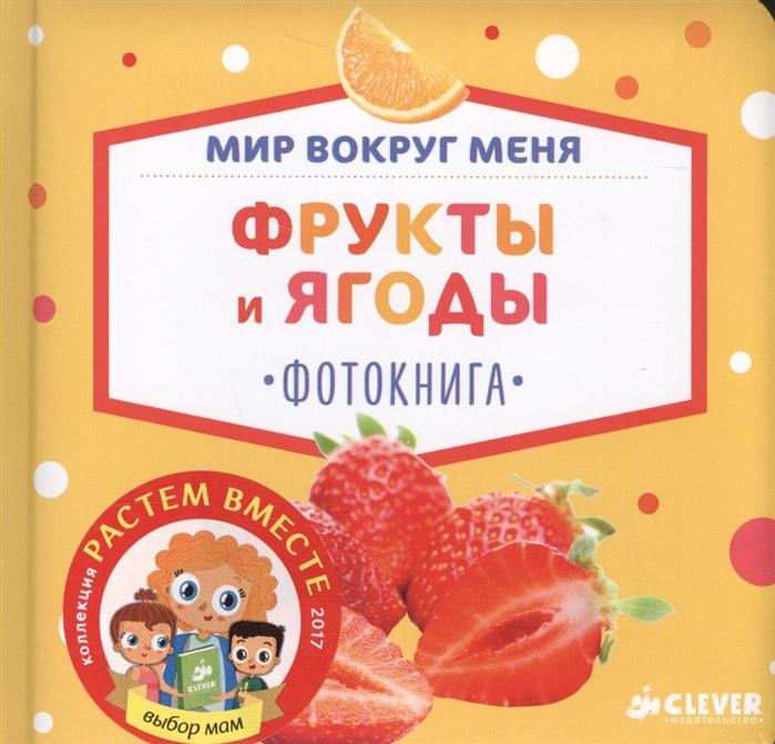 Измайлова Е. (ред.) Мир вокруг меня Фрукты и ягоды Фотокнига измайлова е ред мир вокруг 9 развивающих книжек кубиков