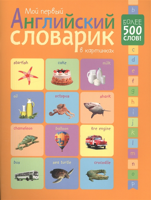Мой первый английский словарик в картинках Более 500 слов