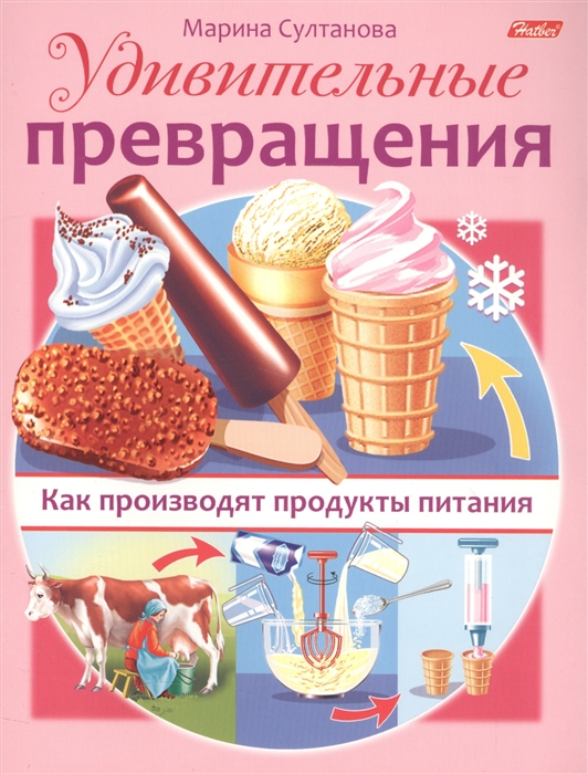 Султанова М. Удивительные превращения Как производят продукты питания продукты питания