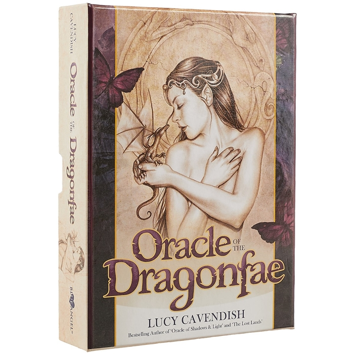 Cavendish L. Оракул Oracle of the Dragonfae минайя э оракул ангеларий 33 карты с инструкцией angelarium oracle of emanations book 33 cards