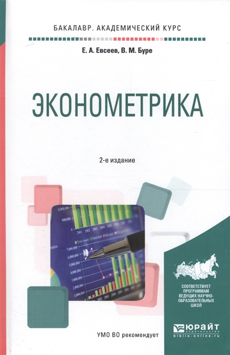 Евсеев Е., Буре В. Эконометрика Учебное пособие для академического бакалавриата