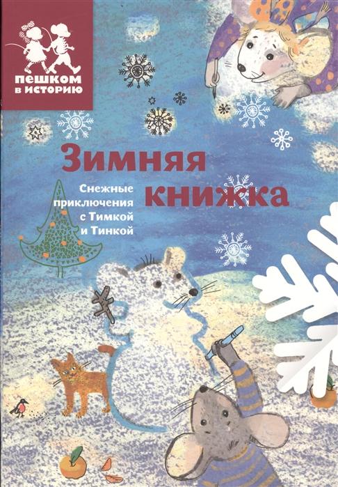 Каширская Е., Степаненко Е. Зимняя книжка Снежные приключения с Тимкой и Тинкой