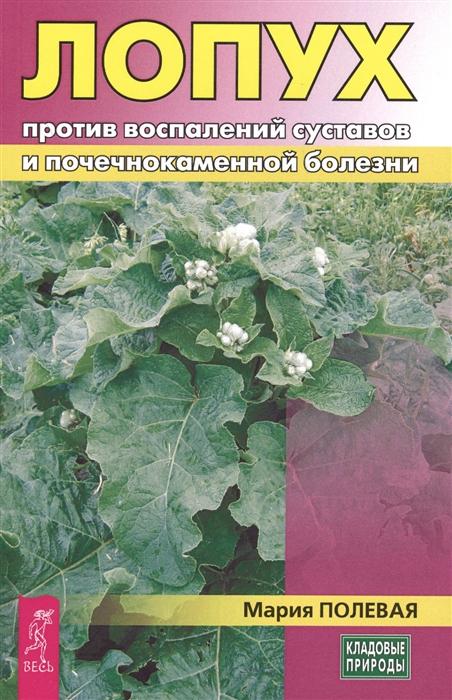 Полевая М. Лопух против воспалений суставов и почечнокаменной болезни