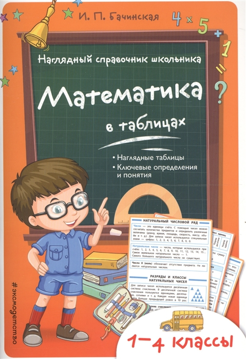 Бачинская И. Математика в таблицах бачинская и игла в сердце