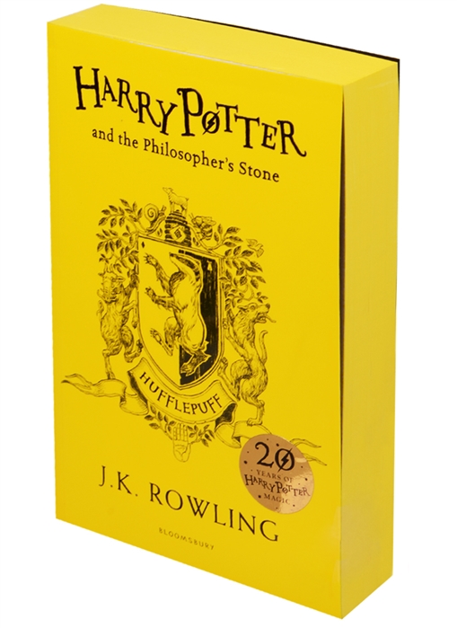 Фото - Rowling J. Harry Potter and the Philosopher s Stone - Hufflepuff Edition Paperback rowling joanne harry potter and the philosopher s stone gift edition