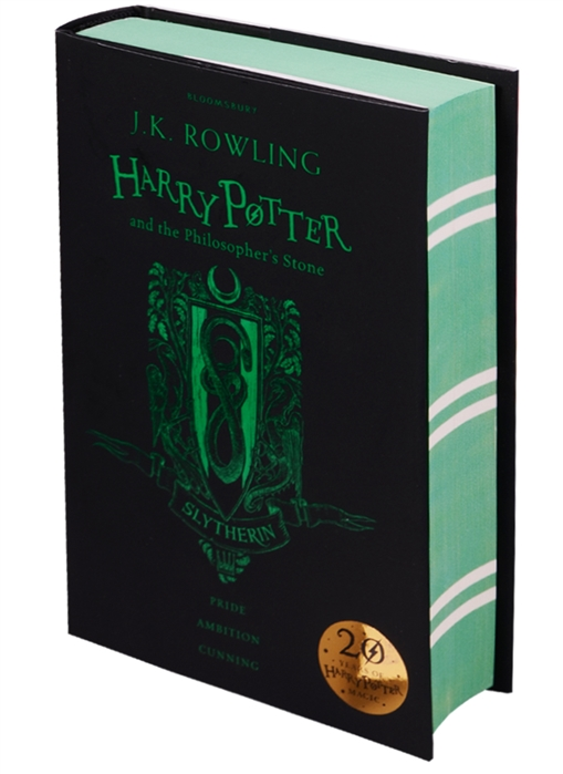 купить Rowling J. Harry Potter and the Philosopher s Stone - Slytherin Edition Hardcover дешево