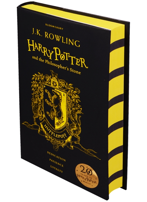 Rowling J. Harry Potter and the Philosopher s Stone - Hufflepuff Edition Hardcover rowling j k harry potter and the philosopher s stone gift edition