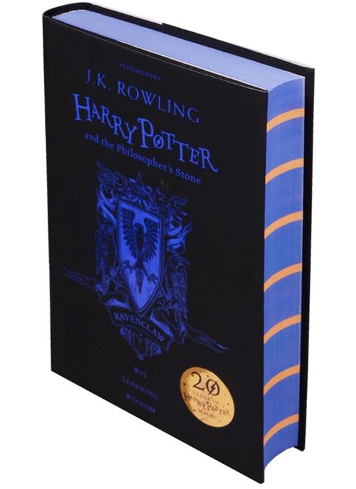 лучшая цена Rowling J. Harry Potter and the Philosopher s Stone - Ravenclaw Edition Hardcover