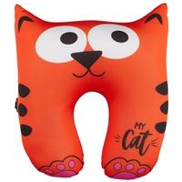 Подголовник-антистресс «Котик рыжий», 30 х 35 см