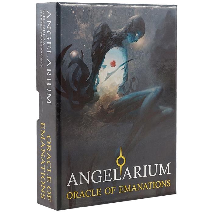Минайя Э. Оракул Ангеларий 33 карты с инструкцией Angelarium Oracle of Emanations Book 33 Cards