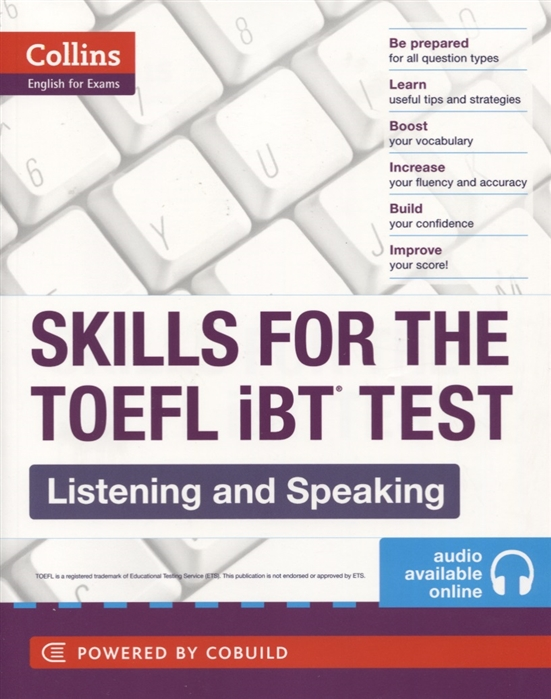 Skills for the TOEFL IBT Test Listening and Speaking