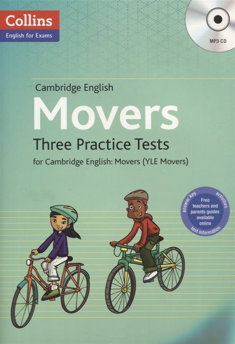 Movers Three Practice Tests for Cambridge English Movers YLE Movers MP3 cambridge english movers 1 for revised exam from 2018 answer booklet
