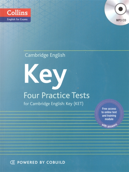 Key Four Practice Tests for Cambridge English Key KET CD foley mark total english upper interm 2nd wb key audio cd