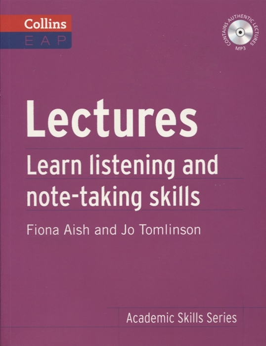 Фото - Aish F., Tomlinson J. Lectures Learn Listening and Note-taking Skills MP3 j b mozley lectures and other theological papers