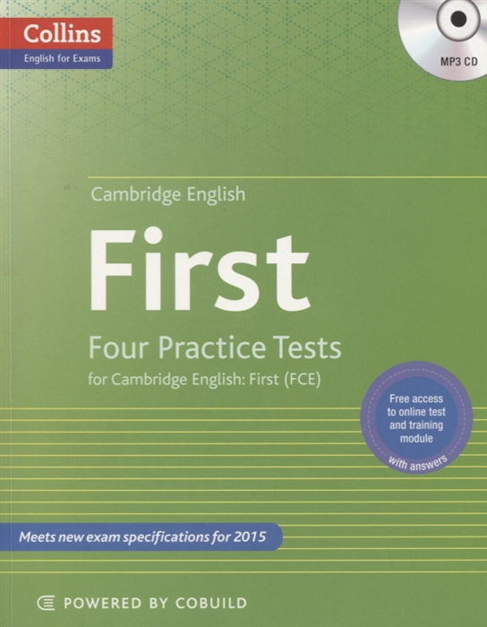 First Four Practice Tests for Cambridge English First FCE MP3 key four practice tests for cambridge english key ket cd