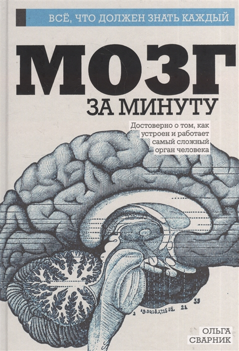 Сварник О. Мозг за минуту Достоверно о том как устроен и работает самый сложный орган человека очаровательный кишечник как самый могущественный орган управляет нами