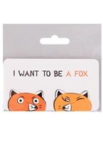 Магнитные закладки I want to be a Fox (2 шт)