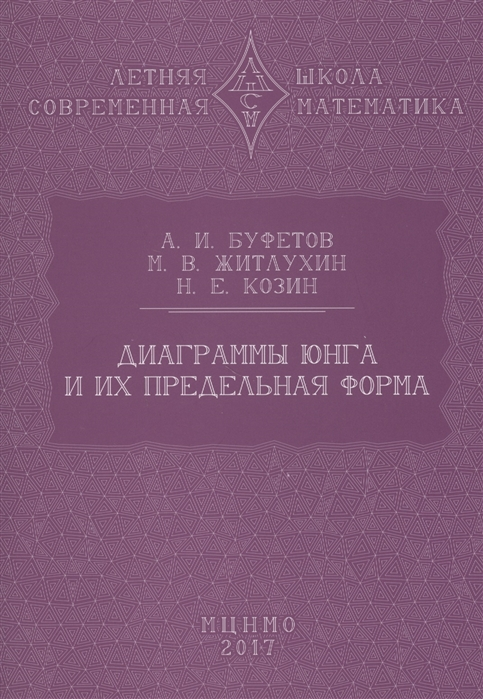 Буфетов А., Житлухин М., Козин Н. Диаграммы Юнга и их предельная форма