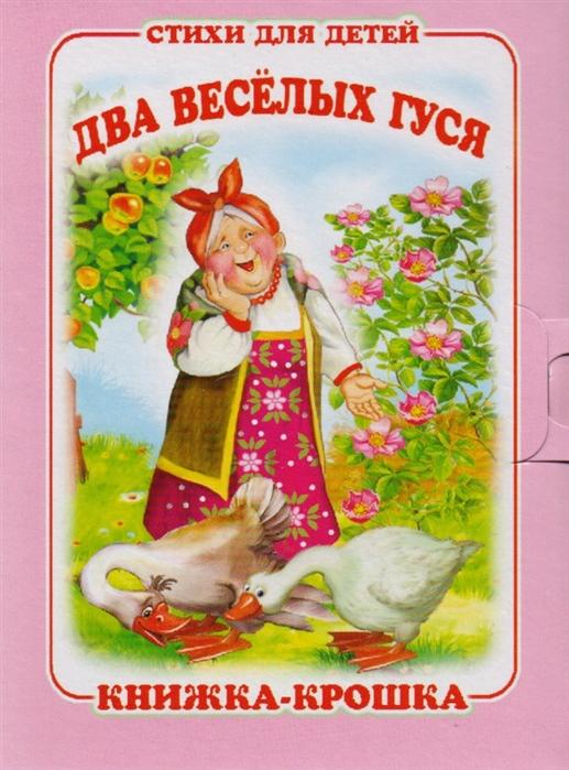 Смирнова Е. (худ.) Два веселых гуся Книжка-крошка с замочком ермакова е худ два веселых гуся