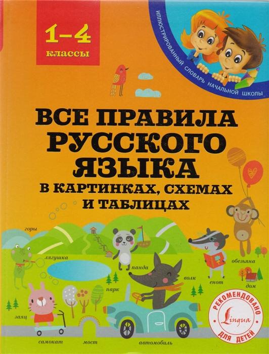 Все правила русского языка в картинках схемах и таблицах 1-4 классы