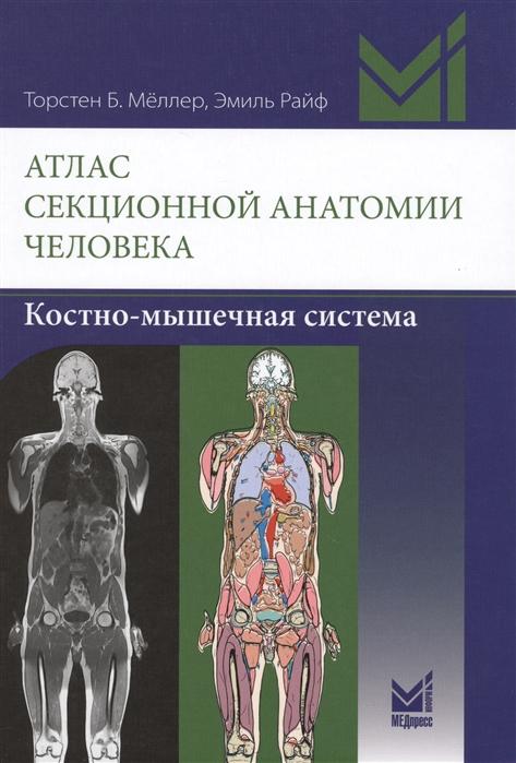 Атлас секционной анатомии человека Костно-мышечная система