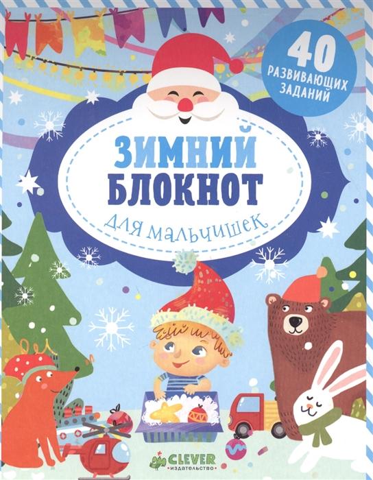 Алексеева Е. Зимний блокнот для мальчишек цены