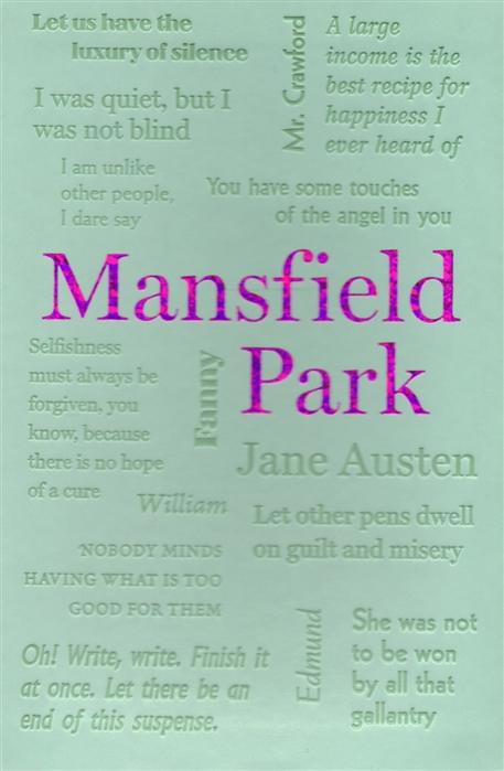 Austen J. Mansfield Park jane austen mansfield park