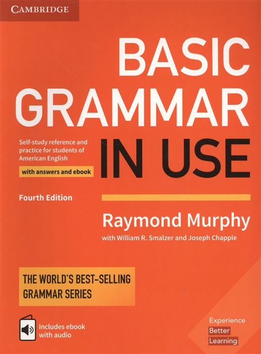 Murphy R. Basic Grammar in USE Self-study reference and practie for students of American English with answers and ebook все цены