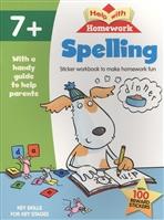 Spelling. Sticker workbook to make homework fun