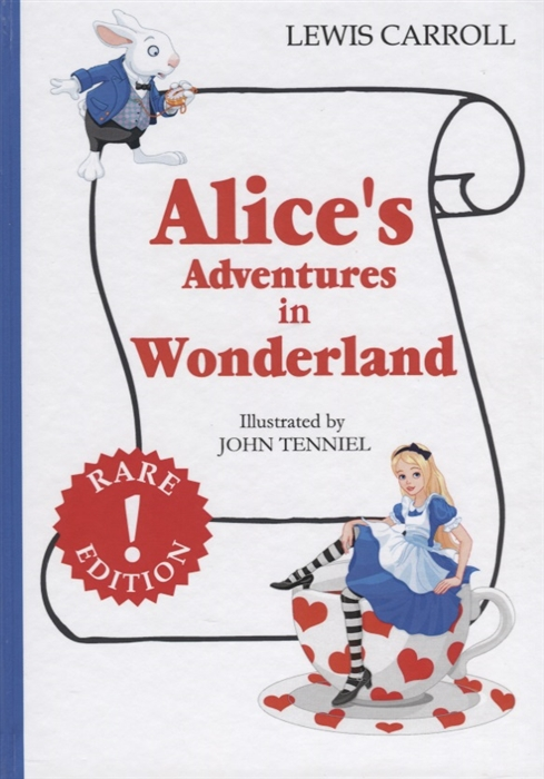 Carroll L. Alice s Adventures in Wonderland Книга на английском языке carrol l alice s adventures in wonderland