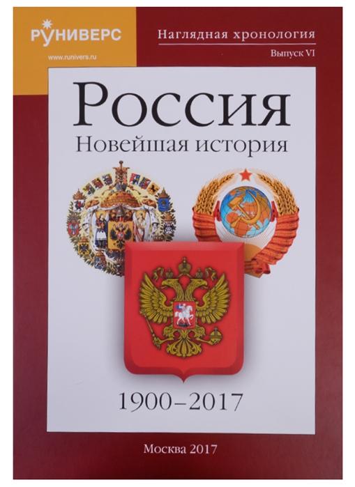 Наглядная хронология Выпуск VI Россия Новейшая история 1900-2017