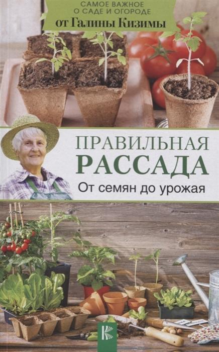 Кизима Г. Правильная рассада От семян до урожая