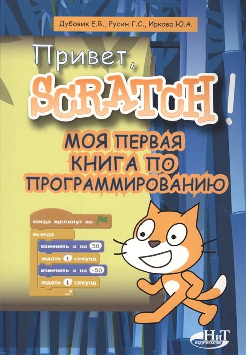 Дубовик Е., Русин Г., Иркова Ю. Привет Scratch Моя первая книга по программированию цена