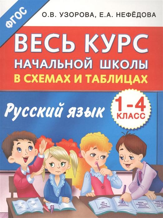 Русский язык 1-4 классы Весь курс начальной школы в схемах и таблицах