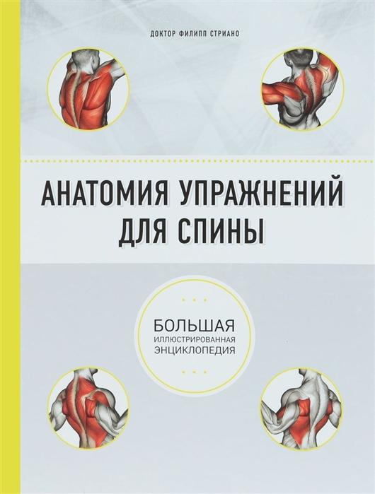 Стриано Ф. Анатомия упражнений для спины клемансо ж п делавье ф анатомия фитнеса