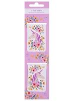 Магнитные закладки «Unicorn», розовые, 2 штуки