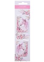 Магнитные закладки «Unicorn», белые, 2 штуки