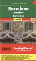 Barcelona. City pocket + The Big Five = Барселона. Карта-покет. 1:10 000