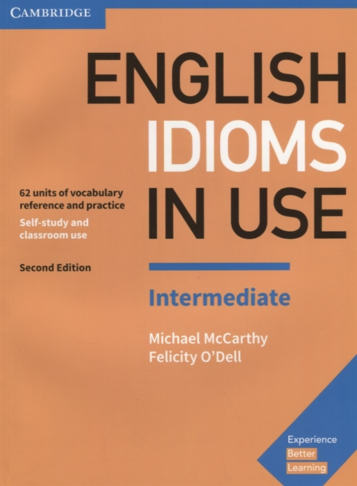 McCarthy M., O`Dell F. English Idioms in Use Intermediate 62 units of vocabulary reference and practice mccarthy michael o dell felicity academic vocabulary in use with answers 2nd edition