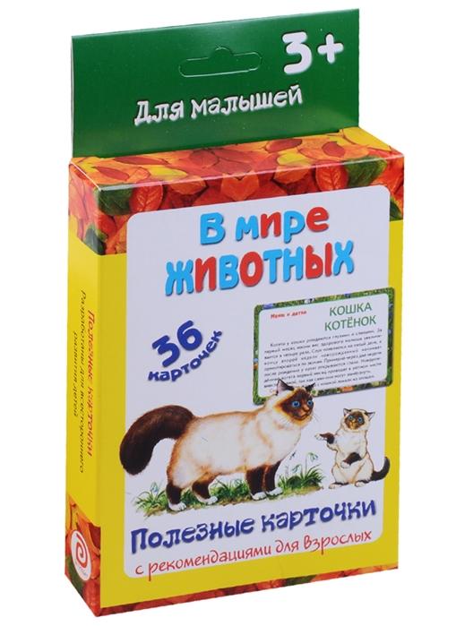 Медеева И. (сост.) В мире животных 36 карточек Полезные карточки с рекомендациями для взрослых