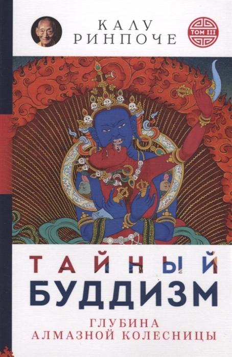 Ринпоче К. Тайный буддизм Том III Глубина Алмазной колесницы калу ринпоче тайный буддизм том iii глубина алмазной колесницы