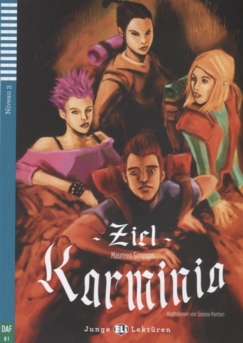 Simpson M. Ziel Karminia Niveau 3 B1 CD simpson maureen rdr cd [juniors] destination karminia isbn 978 88 536 0554 2