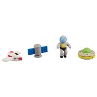 Набор ластиков «Космос», 4 штуки