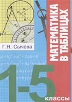 Математика в таблицах. 1-5 классы