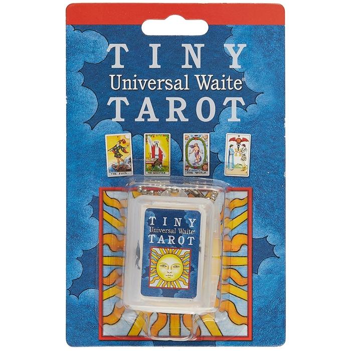 Edward Waite A., Colman Smith P. Universal Waite Tarot Key Chain Универсальное Таро Уэйта - брелок для ключей карты инструкция на английском языке цена 2017