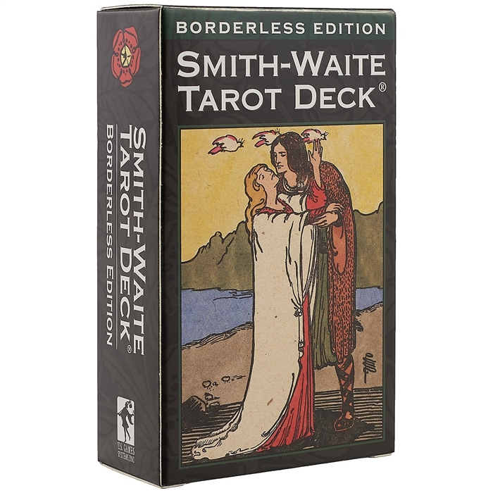 Colman Smith P. Таро Smith-Waite Tarot Deck Borderless Edition карты таро agmuller a e waite deluxe