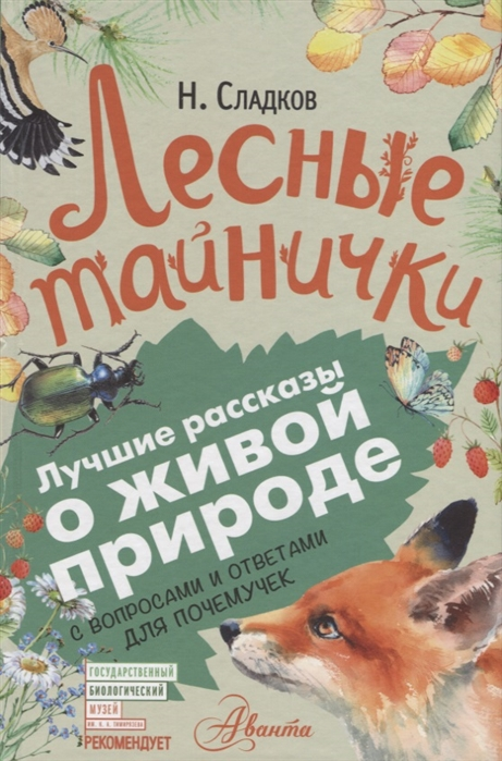 Сладков Н. Лесные тайнички С вопросами и ответами для почемучек