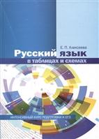 Русский язык в таблицах и схемах. Интенсивный курс подготовки к ЕГЭ. Учебное пособие