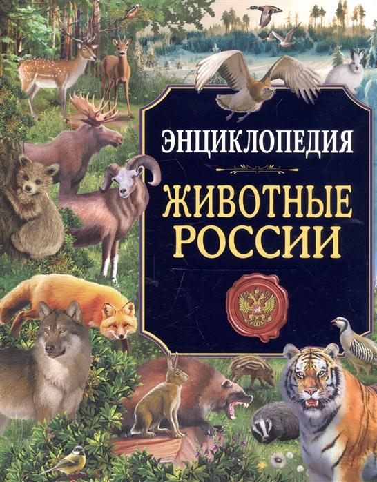 Соколова Л. Животные России Энциклопедия цена в Москве и Питере